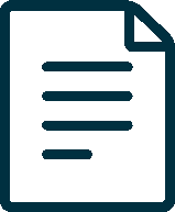 dark blue document icon