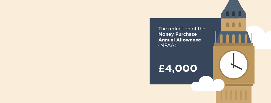 <h1>Changes to the Money Purchase Annual Allowance</h1>